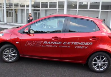 Mazda DEMIO new Rotary Engine for range extender
