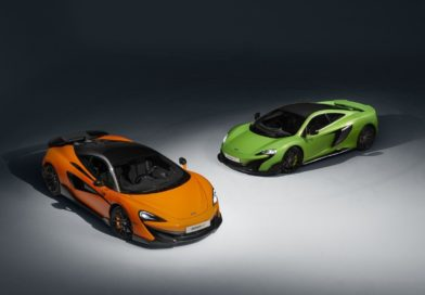 The new 2019 McLaren 600LT