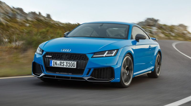 Audi updated TT RS Coupe and Roadster