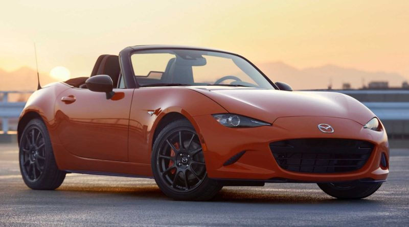 2019 Mazda MX-5 Miata 30th Anniversary