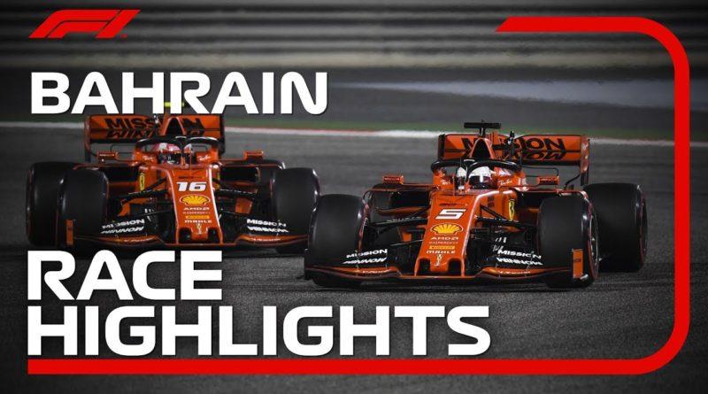 F1 2019 Lewis Hamilton wins Bahrain Grand Prix