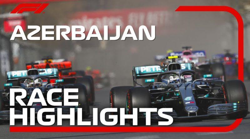 F1 2019 Valtteri Bottas wins Azerbaijan Grand Prix