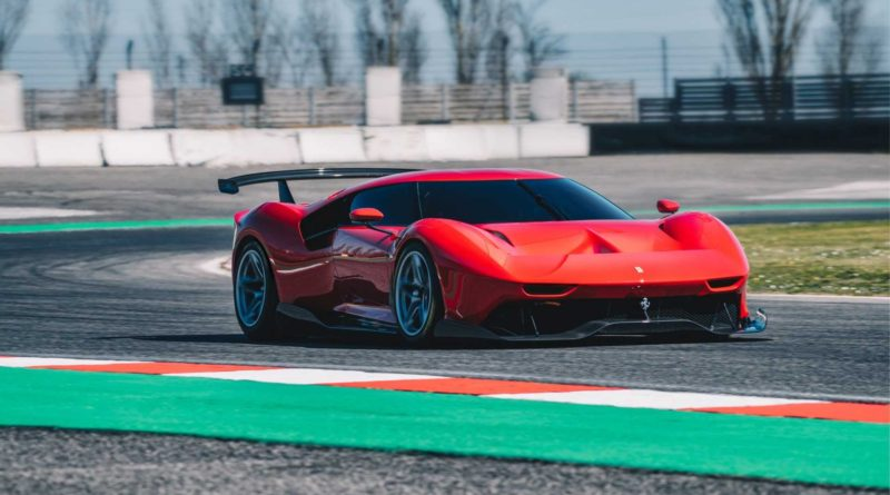 The new Ferrari P80/C Supercar