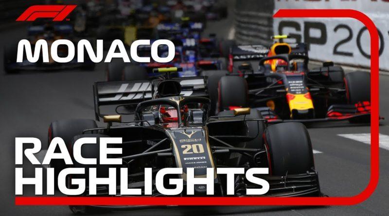 F1 2019 Lewis Hamilton wins Monaco Grand Prix