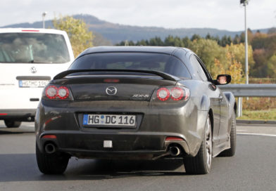 Mazda RX-8 Test Mule seen again at the Nürburgring