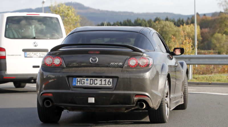 Mazda RX-8 Test Mule seen again at the Nürburgring
