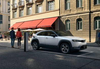 The new Mazda MX-30 EV Crossover Revealed