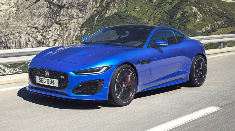2021 Jaguar F-Type Facelift