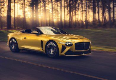 The new 2020 Bentley Mulliner Bacalar
