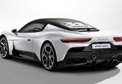 The new Maserati MC20 Revealed
