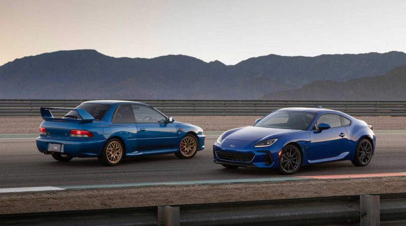 The new 2022 Subaru BRZ Revealed