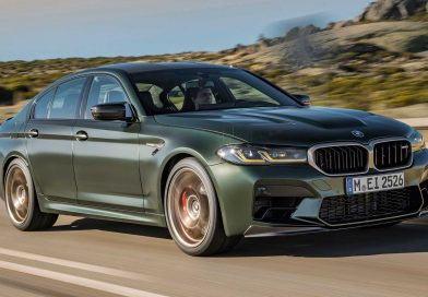 The new BMW M5 CS