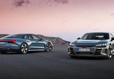 Audi E-Tron GT and RS E-Tron GT EVs Revealed