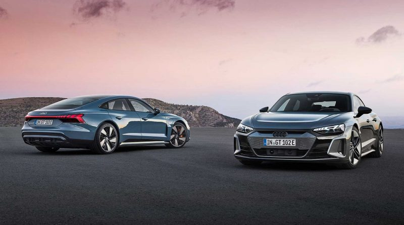 Audi E-Tron GT and RS E-Tron GT EVs Revealed