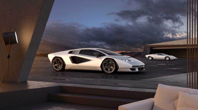 Lamborghini Countach LPI 800-4 Revealed